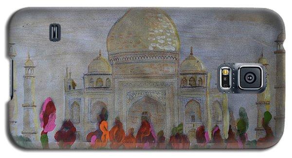 Greeting From The Taj Galaxy S5 Case by Vikram Singh
