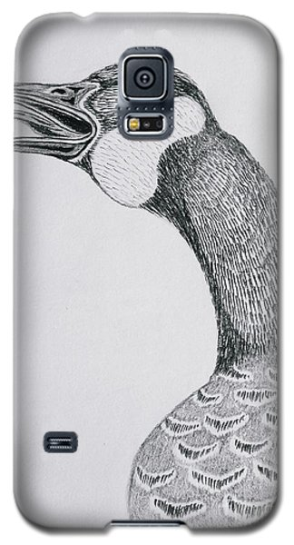 Greeting Goose 1 Detail From Canadian Greetings Galaxy S5 Case