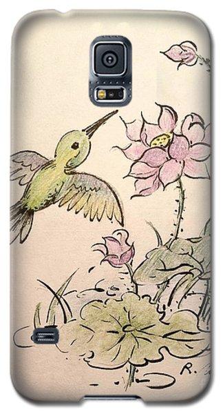 Greeting Hummingbird Galaxy S5 Case