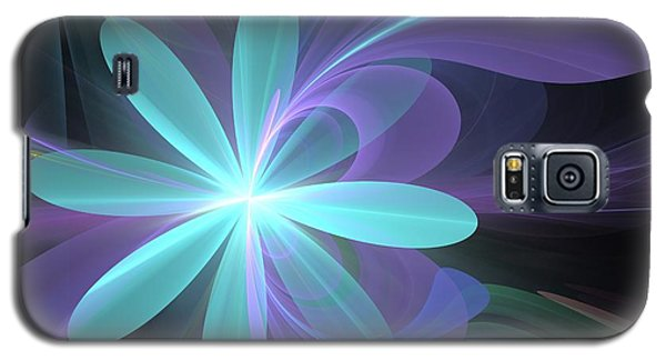 Galaxy S5 Case featuring the digital art Greetings From Ethereal Realms by Svetlana Nikolova
