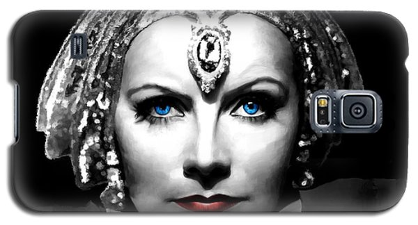 Greta Garbo Portrait Galaxy S5 Case
