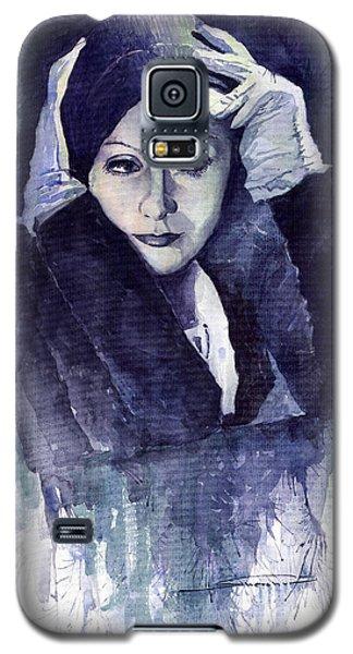 Portret Galaxy S5 Case - Greta Garbo by Yuriy Shevchuk