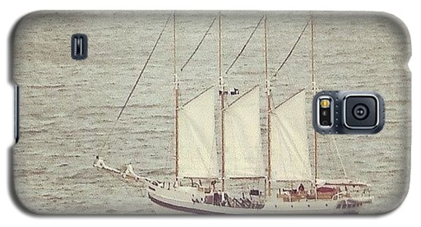 Transportation Galaxy S5 Case - Gray Day And A Tall Ship by Jill Tuinier