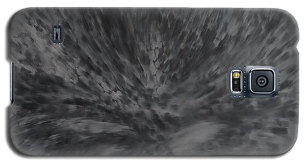 Galaxy S5 Case featuring the painting Grey Emotions In Motion by Stuart Engel