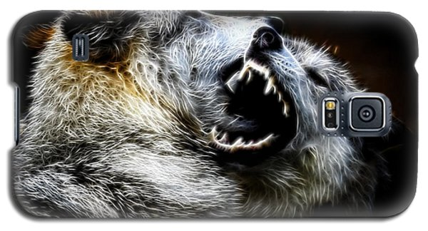 Grey Wolf Fight Galaxy S5 Case