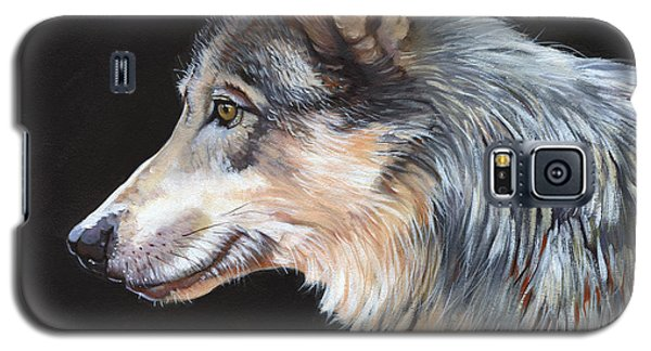 Grey Wolf Galaxy S5 Case