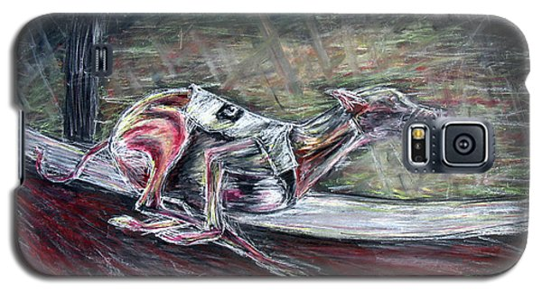 Greyhound Number Three Galaxy S5 Case by Tom Conway