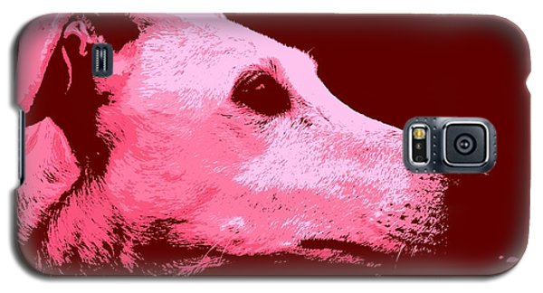 Galaxy S5 Case featuring the photograph Greyhound Profile by Clare Bevan