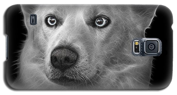 Greyscale Mila - Siberian Husky - 2103 - Bb Galaxy S5 Case