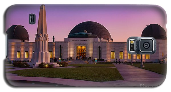 Griffith Observatory Galaxy S5 Case by Eddie Yerkish