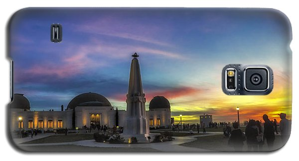 Galaxy S5 Case featuring the photograph Griffith Observatory by Sean Foster