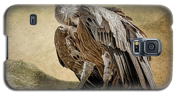 Galaxy S5 Case featuring the photograph Griffon Vulture by Brian Tarr
