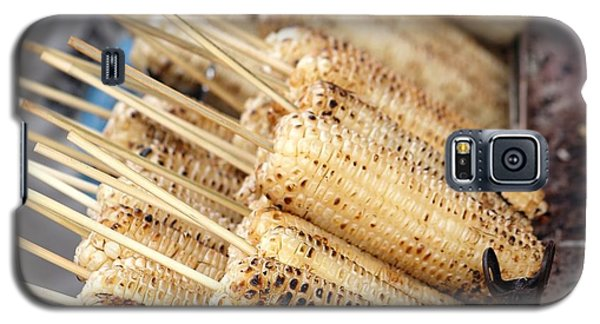 Grilled White Corn Cobs Galaxy S5 Case by Yali Shi