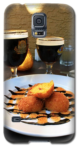 Grimbergen And Arancini Galaxy S5 Case
