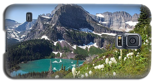 Grinnell Lake With Beargrass Galaxy S5 Case by Jack Bell