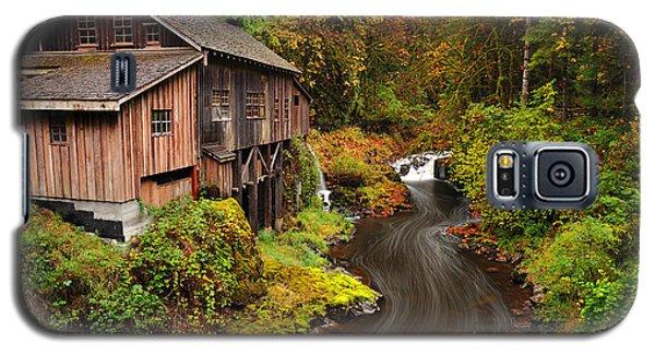 Grist Mill In Autumn Galaxy S5 Case