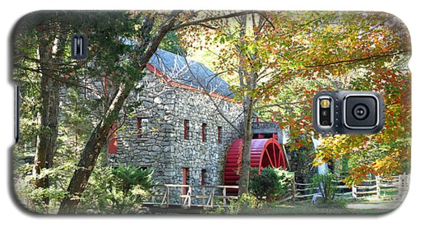Grist Mill In Fall Galaxy S5 Case