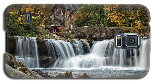 Grist Mill With Vibrant Fall Colors Galaxy S5 Case
