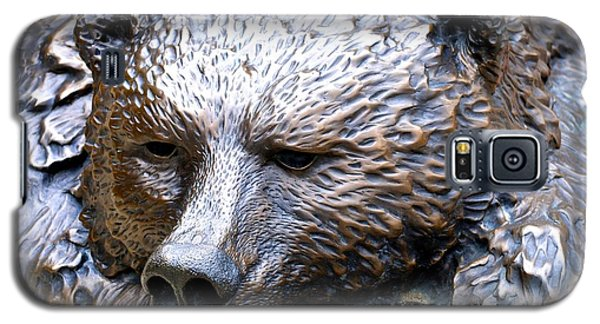 Grizzly Bear 2 Galaxy S5 Case by Charlie and Norma Brock