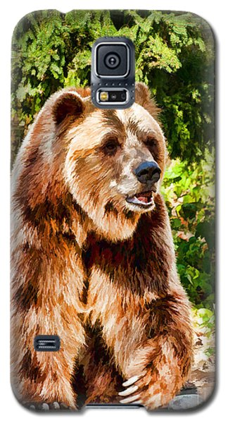 Grizzly Bear - Painterly Galaxy S5 Case