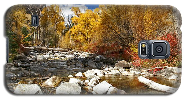 Galaxy S5 Case featuring the photograph Grizzly Creek Canyon by Jeremy Rhoades