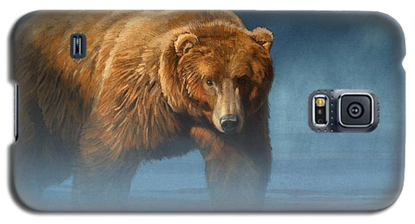 Grizzly Encounter Galaxy S5 Case by Aaron Blaise