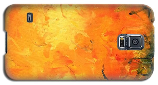 Grounded Orange Galaxy S5 Case
