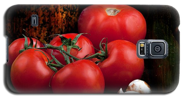 Group Of Vegetables Galaxy S5 Case by Gunter Nezhoda