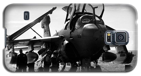 Grumman Ea-6b Prowler B-w Galaxy S5 Case