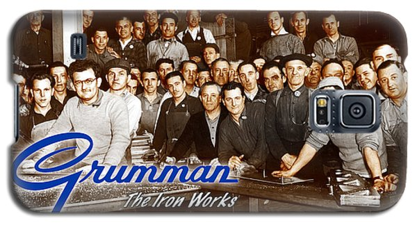 Grumman Iron Works Shop Workers Galaxy S5 Case