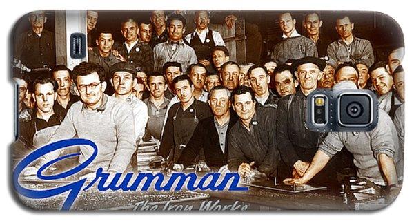 Grumman Iron Works Shop Workers Galaxy S5 Case