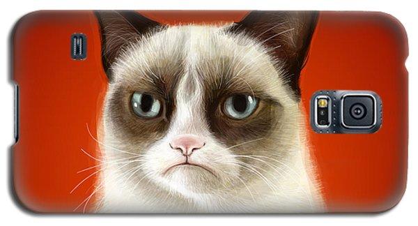 Grumpy Cat Galaxy S5 Case