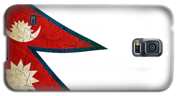 Grunge Nepal Flag Galaxy S5 Case