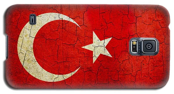 Grunge Turkey Flag Galaxy S5 Case
