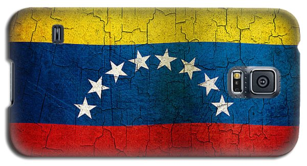 Grunge Venezuela Flag Galaxy S5 Case