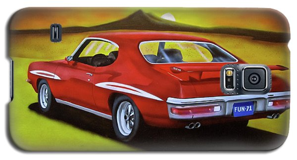 Galaxy S5 Case featuring the painting Gto 1971 by Thomas J Herring