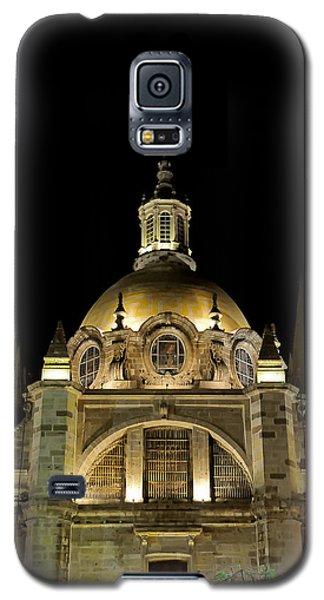 Guadalajara Cathedral At Night Galaxy S5 Case by David Perry Lawrence