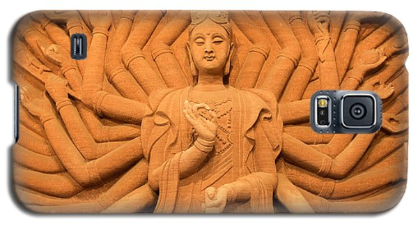 Galaxy S5 Case featuring the photograph Guanyin Bodhisattva by Dean Harte