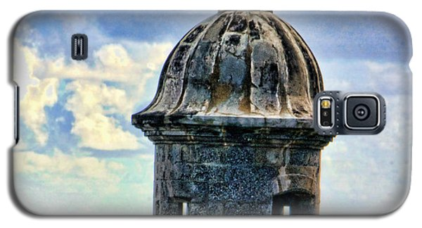 Guard Tower At El Morro Galaxy S5 Case by Daniel Sheldon
