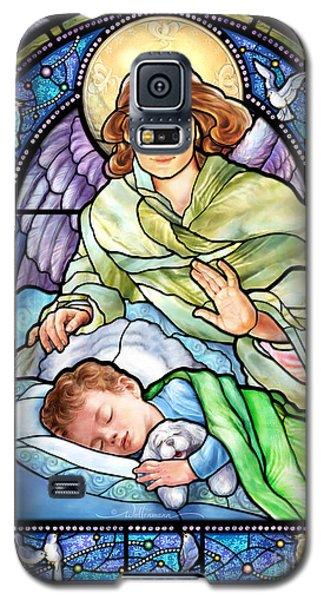Guardian Angel With Sleeping Boy Galaxy S5 Case