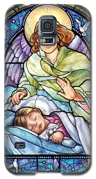Guardian Angel With Sleeping Girl Galaxy S5 Case