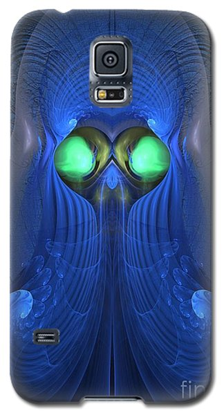 Guardian Of Souls - Surrealism Galaxy S5 Case by Sipo Liimatainen