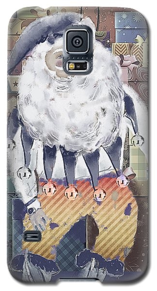 Galaxy S5 Case featuring the digital art Guarding The Gifts by Arline Wagner