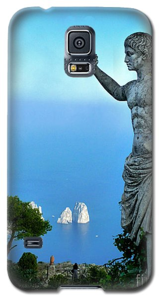 Galaxy S5 Case featuring the photograph Guarding The Water by Mike Ste Marie