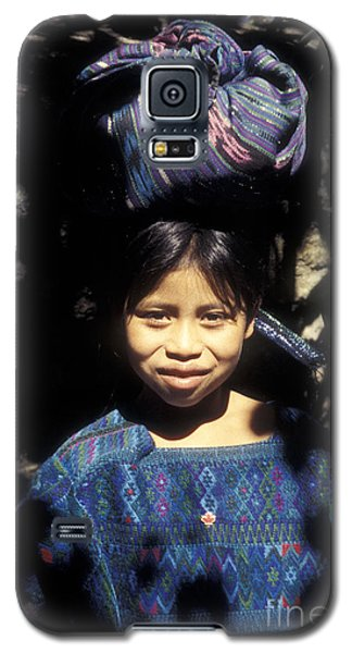 Guatemala Smiling Maya Girl Galaxy S5 Case