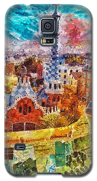Guell Park Galaxy S5 Case by Mo T
