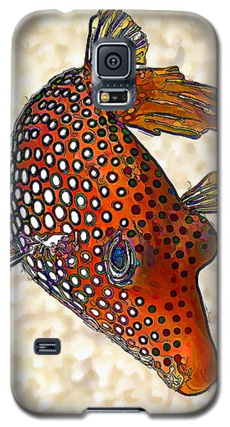 Guinea Fowl Puffer Fish Galaxy S5 Case by ABeautifulSky Photography