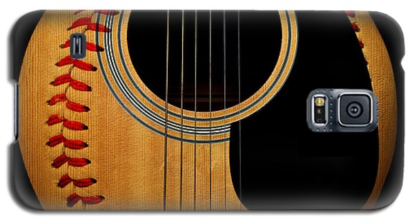 Guitar Baseball Square Galaxy S5 Case