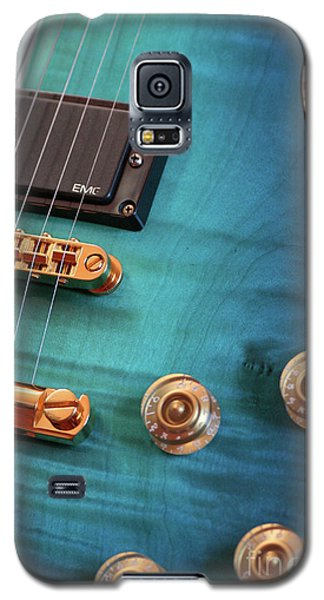 Galaxy S5 Case featuring the photograph Guitar Blues by Joy Watson