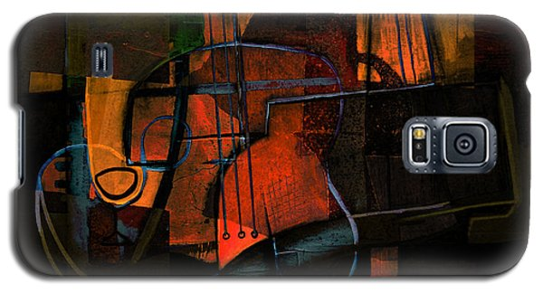 Guitar On Table #3 Galaxy S5 Case by Kim Gauge